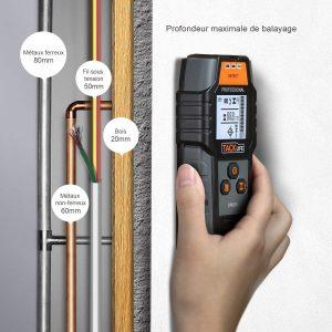 Détecteur de câble numérique Test Tacklife DMS05