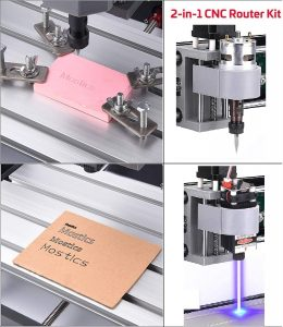 Machine de gravure laser Vogvigo CNC 3018